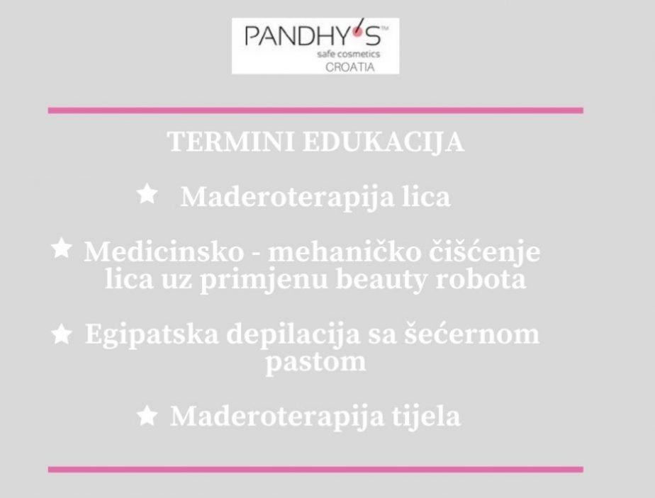 edukacija, depilacija, maderoterapija, čišćenje lica